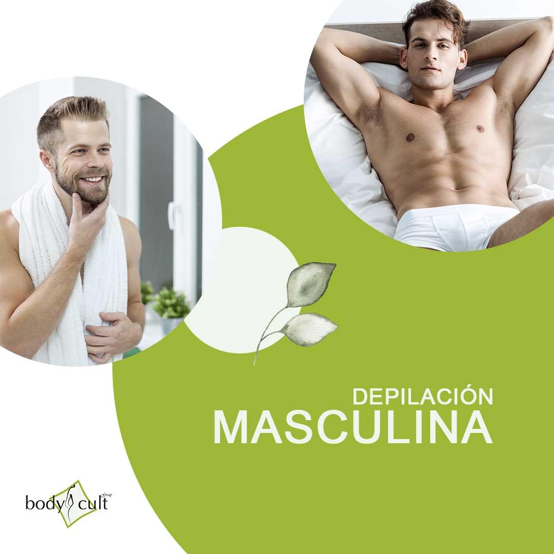 Depilacion masculina - bodycult - depilacion laser - sapphire